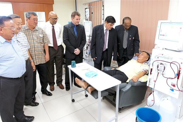 ISO Certificate for Rotary Club Haemodialysis Centre in Klang